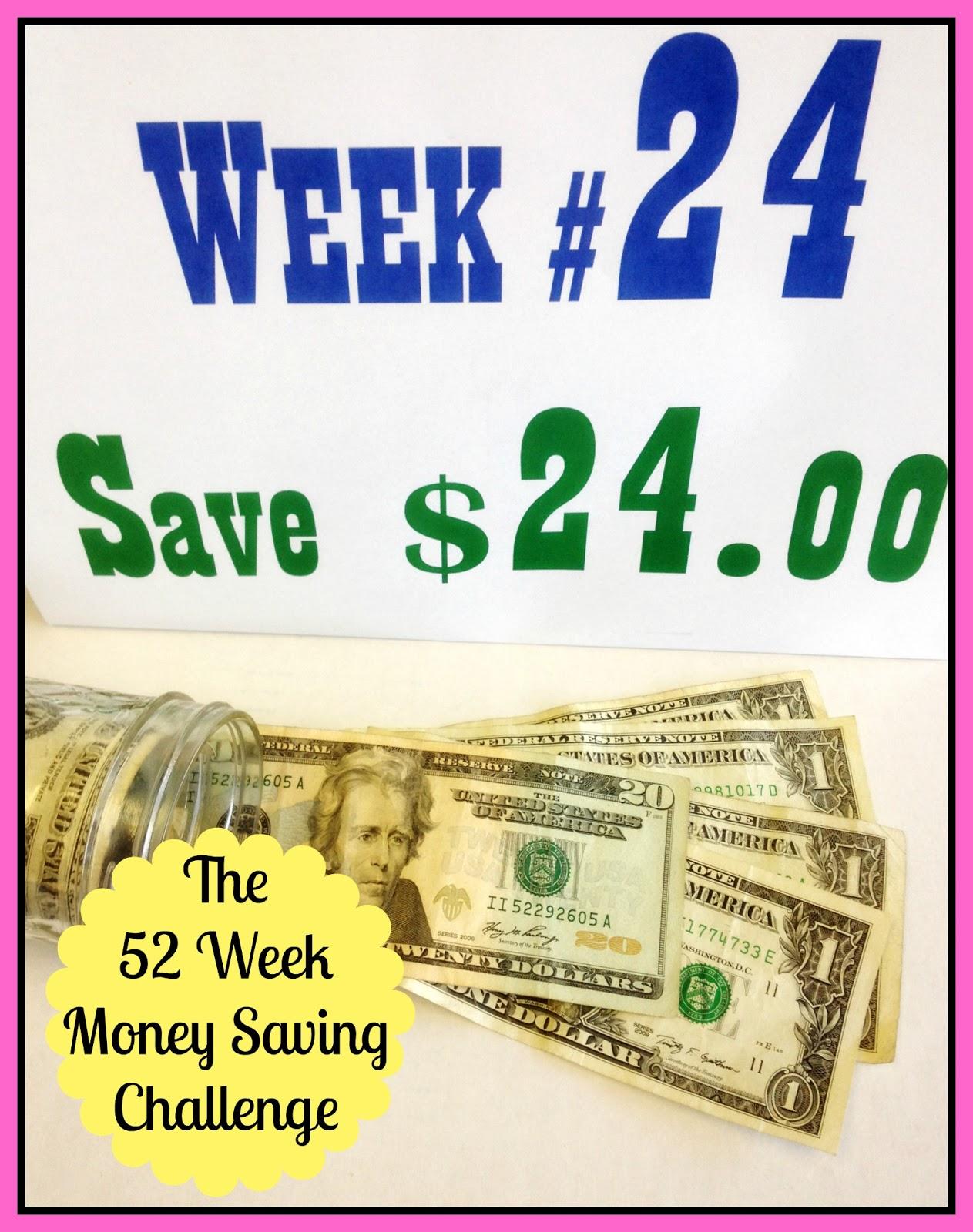 The 52 Week Money Saving Challenge - Week #24