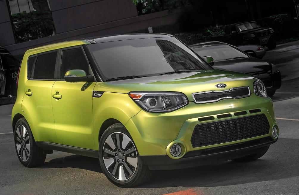 2014 Kia Soul green