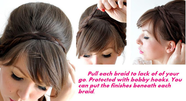 how to do simple braided hairstyles
