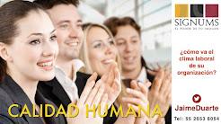 CALIDAD HUMAA