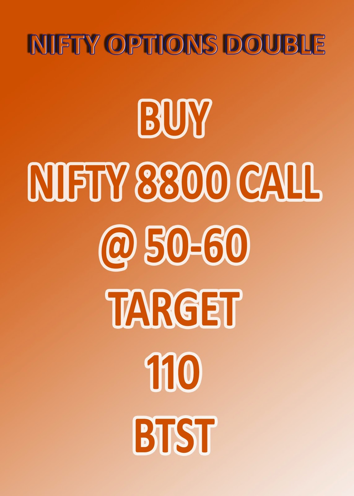 Nse stock options tips