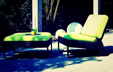 Outdoor setting simple and cool designs