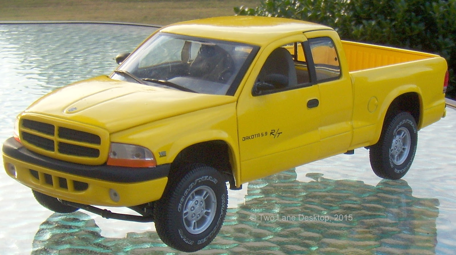 on Matchbox Dodge Dakota
