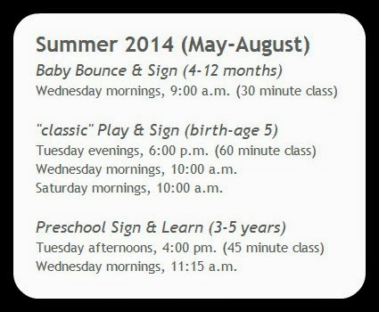 NOW Enrolling: Summer Session 2014! | San Antonio * Baby Signing