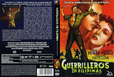 Carátula de Guerrilleros en Filipinas