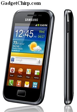 Samsung GALAXY Ace Plus : Full Specs & Features