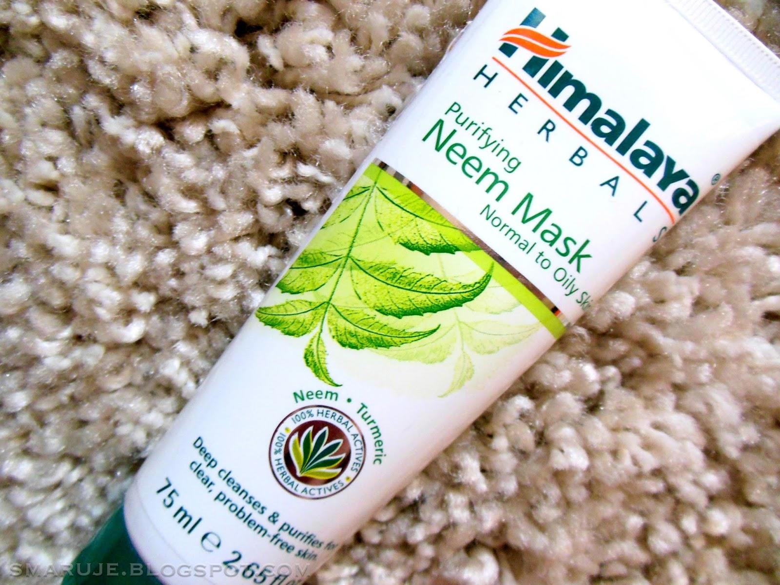 Himalaya Herbals – Purifying Neem Mask [recenzja]