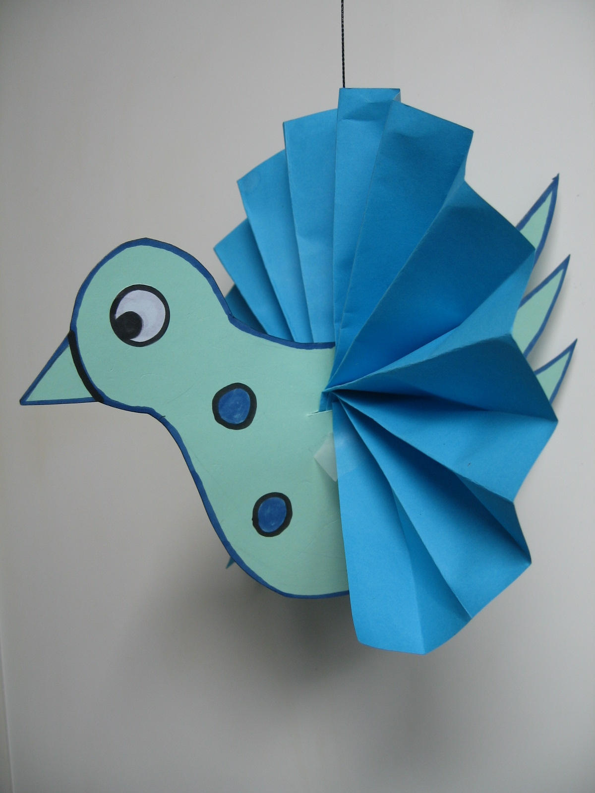 Craft with jack 3 d bird for Birdhouse project