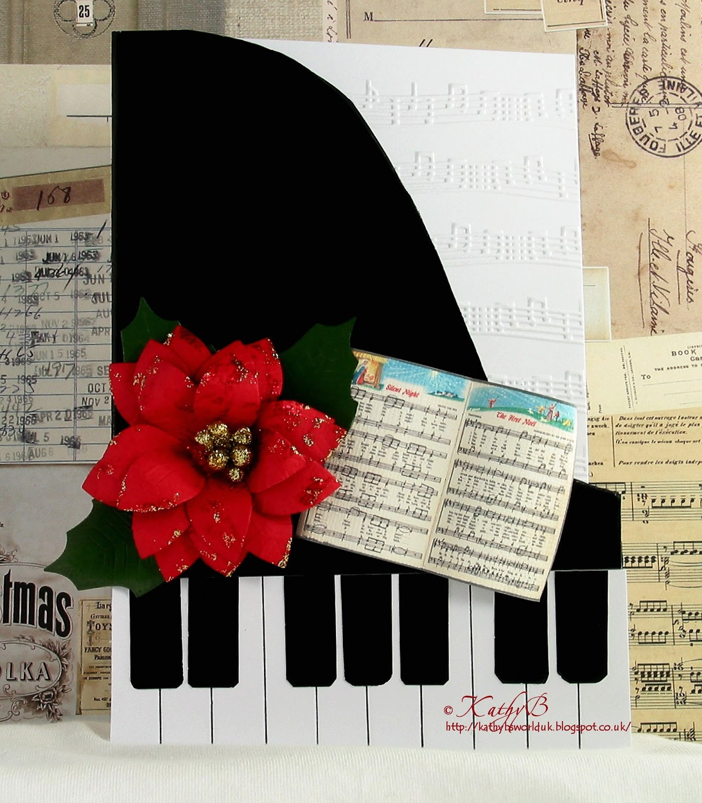 Be Our Guest Lyrics Sheet Music: Daring Cardmakers: Thank You For The Music