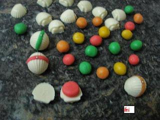 حلوة الكوكياجة بالشكلاط بيض وعجينة اللوز بدون طهي بالصور