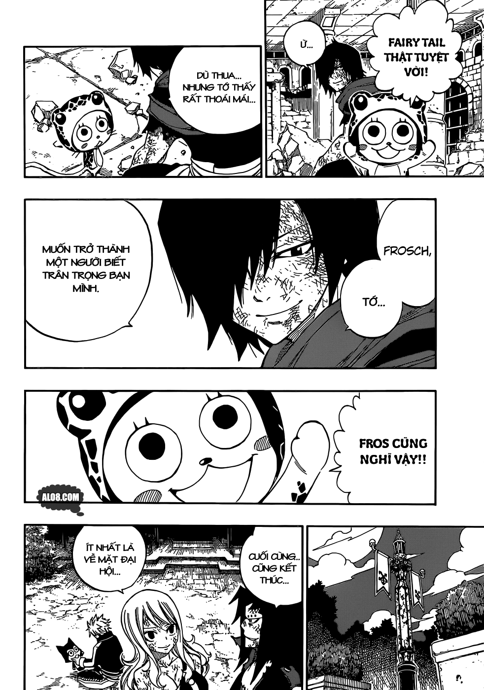 Fairy Tail chap 323 page 4 - IZTruyenTranh.com