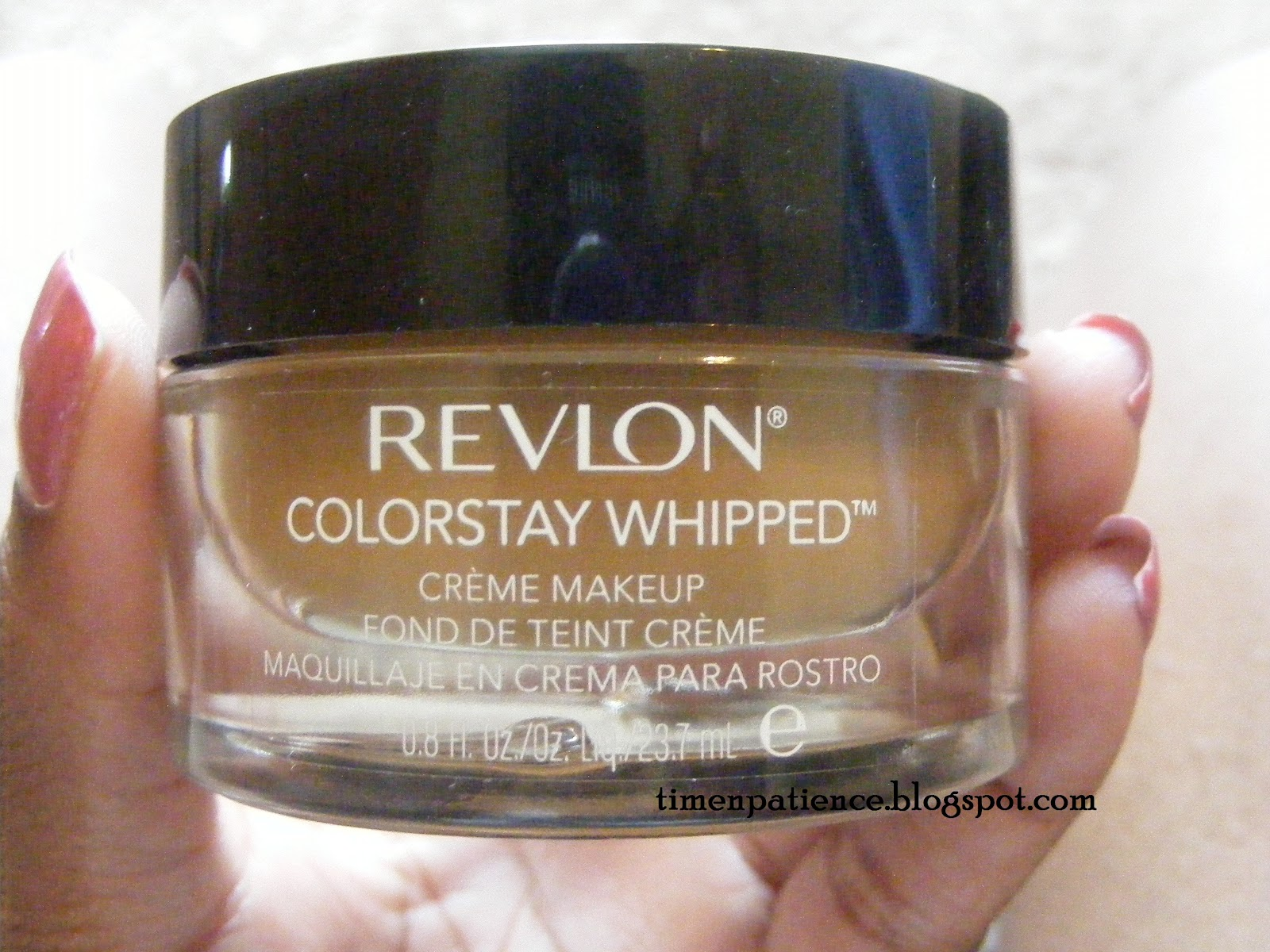 Time N' Patience: Revlon Colorstay Whipped Foundation - Caramel