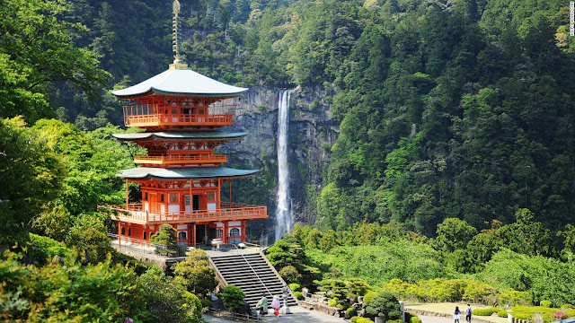 Most beautiful places in Japan