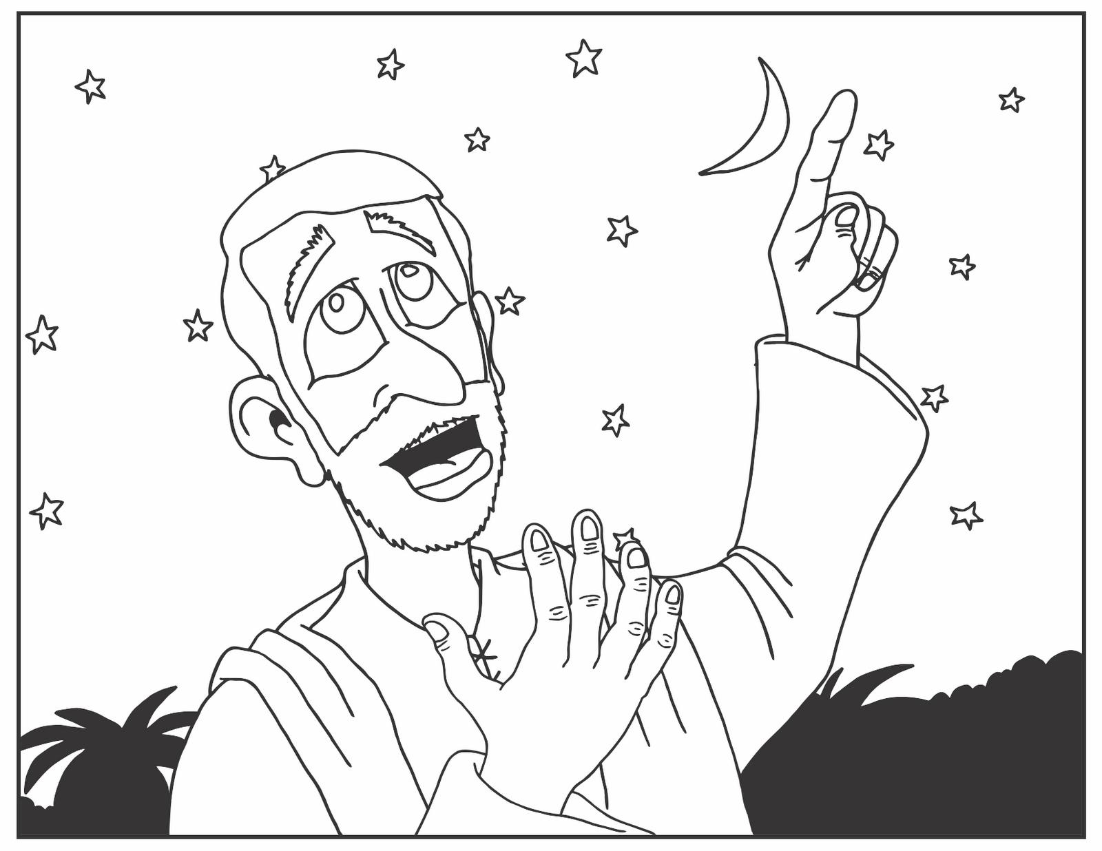 Matt S Sketch Pad November 2011 Hagar And Ishmael Coloring Page