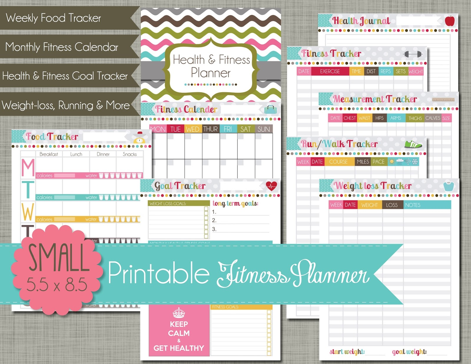 The Polka Dot Posie Planner Pages