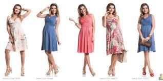 modelos de vestidos coloridos para grávidas - dicas e fotos