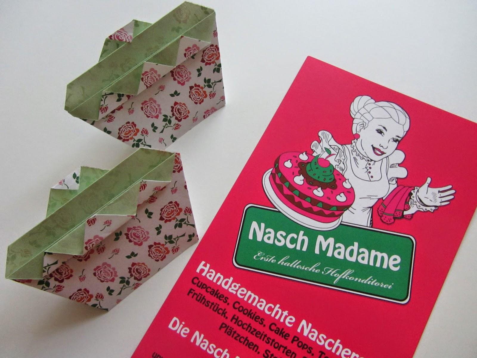 Origami Cupcake, Bastelblog, Häkelblog, Nasch Madame, DIY, Liebenswelt