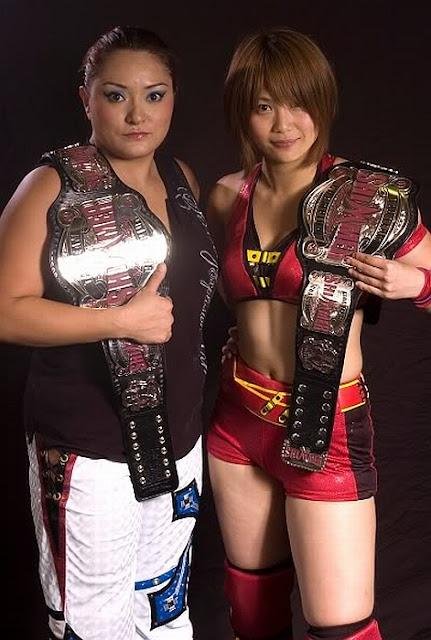 Ayako Hamada and Ayumi Kurihara