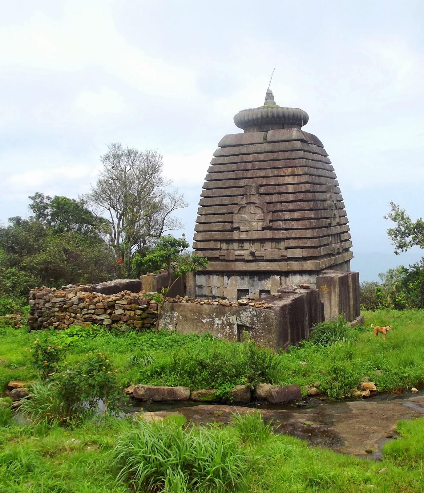 Yudhishtar Temple at Mahendragiri