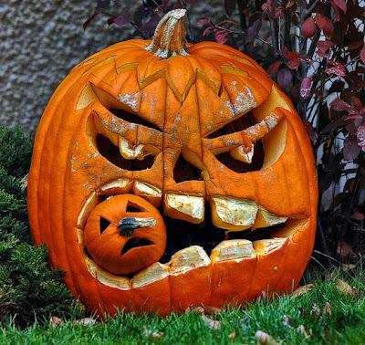 C mo tallar las calabazas para halloween muy buenas - Calabazas decoradas para halloween ...