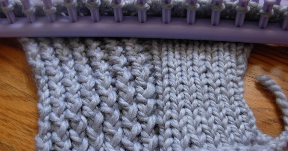 The Casual Loom Knitter: Stockinette Stitch