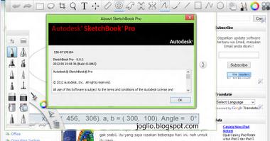 cara menggunakan autodesk sketchbook