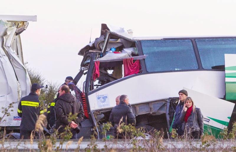 Αλίαρτος: Θανατηφόρο τροχαίο με λεωφορείο που κατευθυνόταν προς Χαλκίδα!