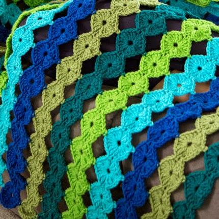 Crazy Cool Yo-Yo Crochet Afghan - Free Pattern
