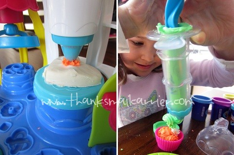 Play-Doh frosting