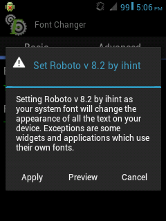 Font Changer, Tutorial Cara Mengganti Font Android