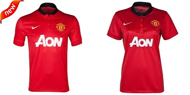 Jersey Couple Manchester United Home 2013-2014