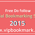 Latest Top Free Social Bookmarking List 2015