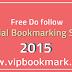 Latest Free Social Bookmarking List 2015