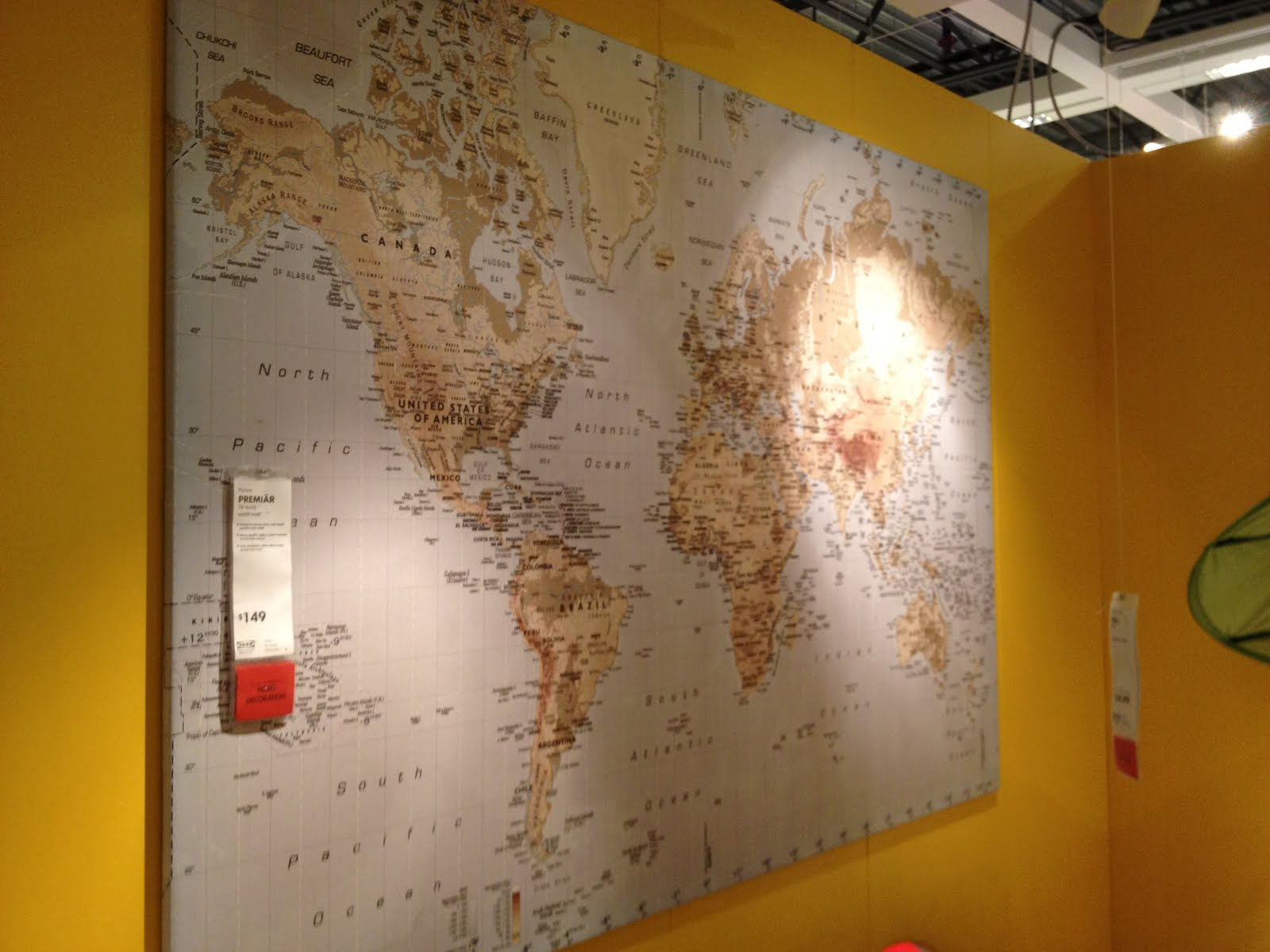 Map of the world ikea map of the world ikea eivor leva twin duvet cover and pillowcase 3999 gumiabroncs Gallery