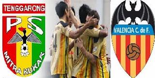 Hasil Pertandingan Sepakbola Klub dan Timnas Indonesia (Mitra Kukar vs Valencia)