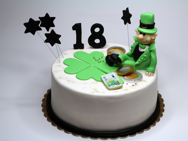 18th Birthday Cake for Patrick - Bespoke Cakes in Chelsea London