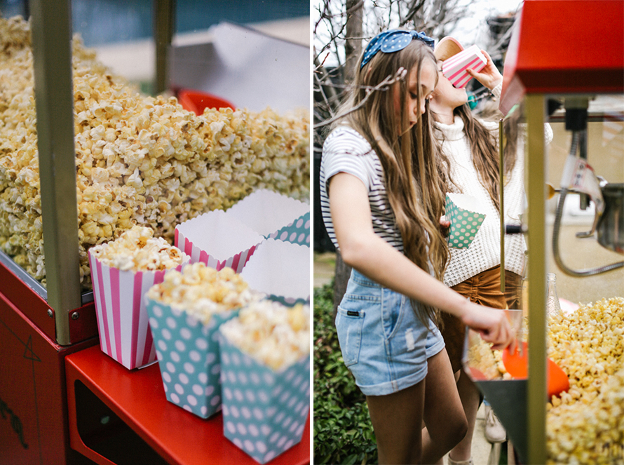 melbourne party hire popcorn machine