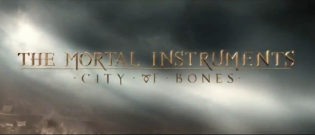 The Mortal Instruments City of Bones 2013 Sony Pictures Entertainment and Screen Gems fantasy film directed by Harald Zwart starring Lily Collins, Kevin Zegers, Jonathan Rhys Meyers