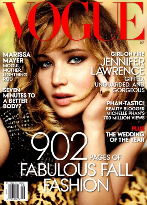 Jennifer Lawrence September Issue Cover