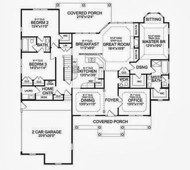 planos casas modernas planos de casas de 4 dormitorios