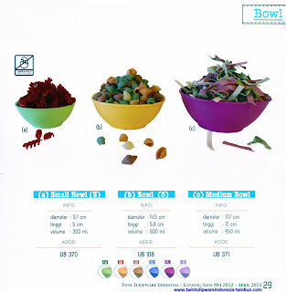 Info & Harga Twin Tulip Tulipware 2014 : Small Bowl | Bowl | Medium Bowl