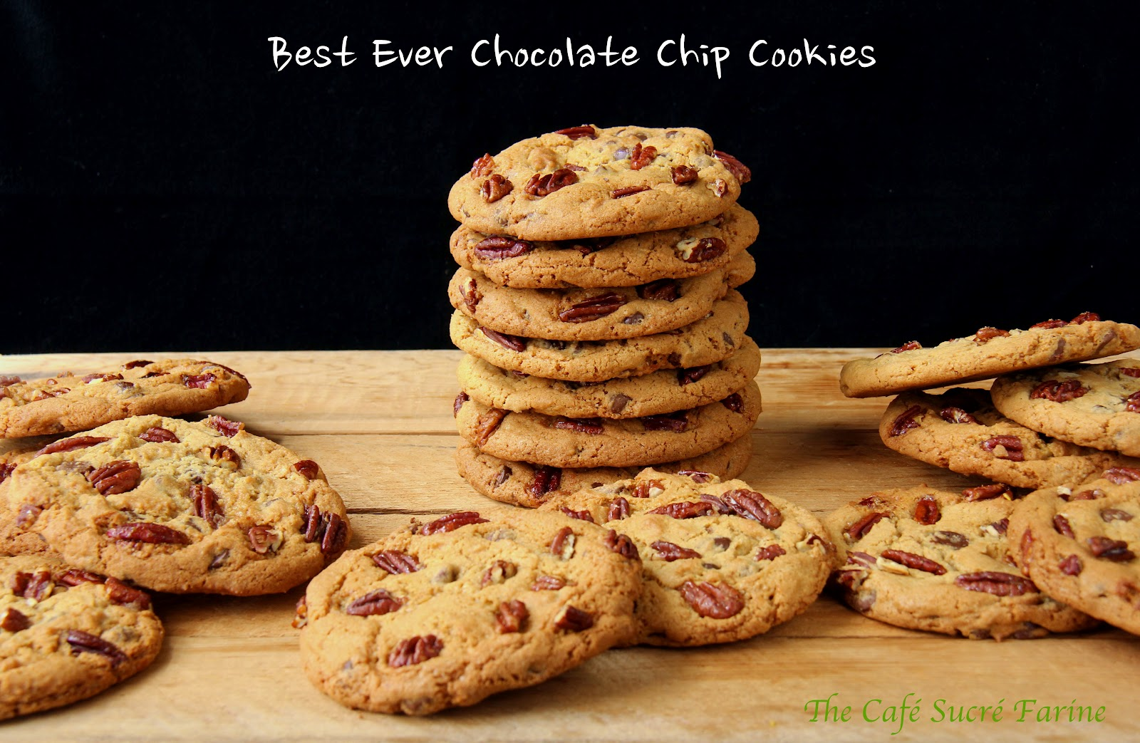 Best Ever Chocolate Chip Cookies with Sea-Salted, Slow-Roasted Pecans ...
