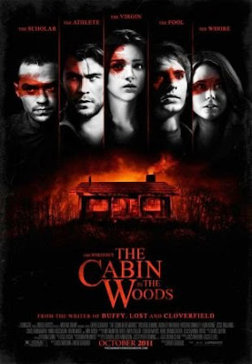 The cabin in the woods (2012) movie poster pelicula online
