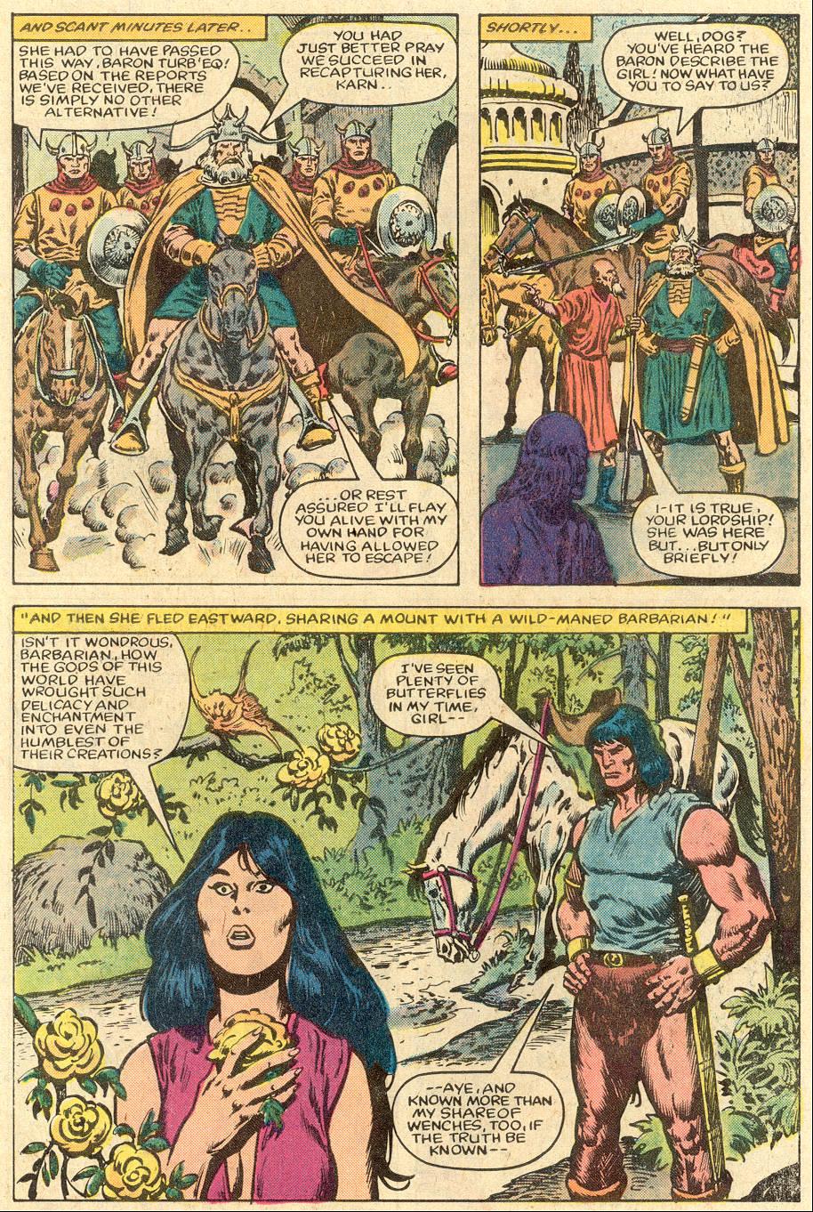 Conan the Barbarian (1970) Issue #150 #162 - English 5