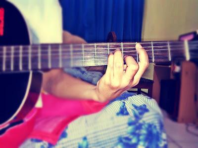 gambar chord gantung minor