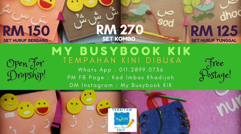 Terbaru 2017! My Busybook KIK