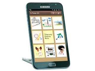 Harga dan Spesifikasi Samsung Galaxy Note Terbaru 2012