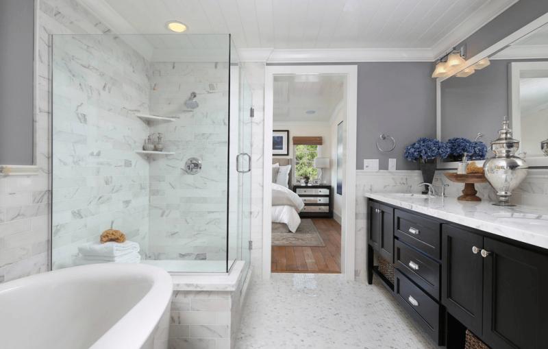 Baños Con Ducha Separada:Diseño de Interiores & Arquitectura: Ideas Para Salas de Baños – La