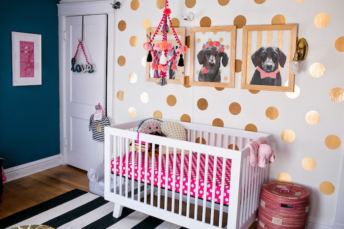 Bedroom Chic Decor for Female Baby