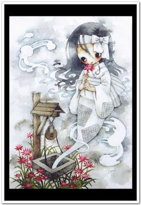 Muñeca fantasma muñecas japonesas